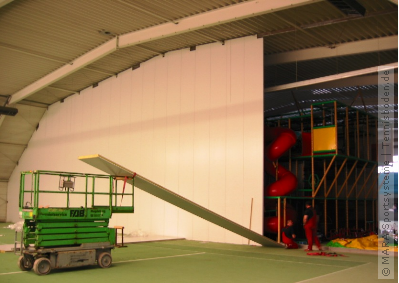 Trennwand-System Soccer MARA
