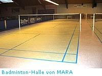 Badminton Halle von MARA