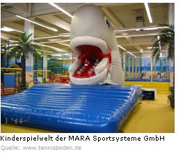 Kinderspielwelt der MARA Sportsysteme