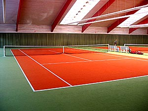 Tennisboden Tennisbelag