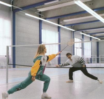 Badminton - Beleuchtung