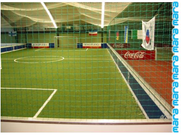 Soccer: Bandensystem / Netzsystem