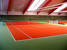 Tennisbelag - Tenniscourt: Center Court