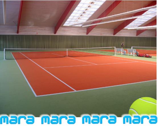 Tennisboden-Belag - MARA Sportsysteme